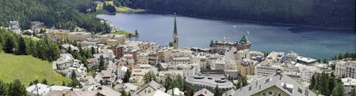 St. Moritz  –  in der Bilderbuchlandschaft Engadin