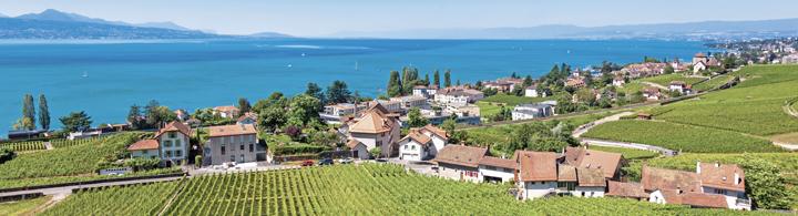 Montreux – zwischen See und Rebhängen
