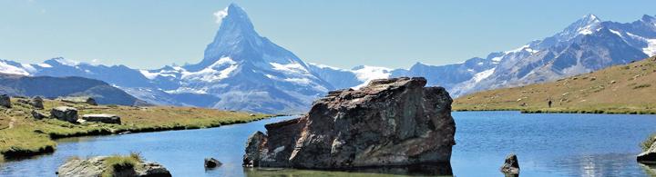 Zermatt  –  Schwarzsee & Matterhorn