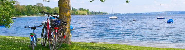 Veloreise rund um den westlichen Bodensee