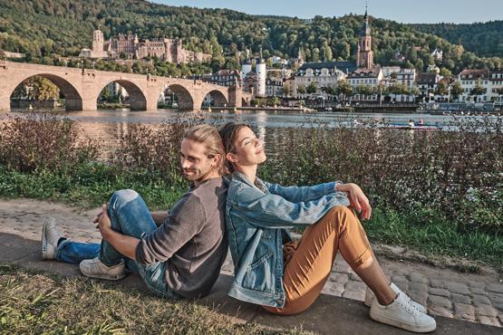Heidelberg – </br>Romantische Stadt am Neckar