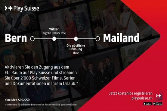 NEU: Play Suisse auch in Ihrem EU-Ferienziel