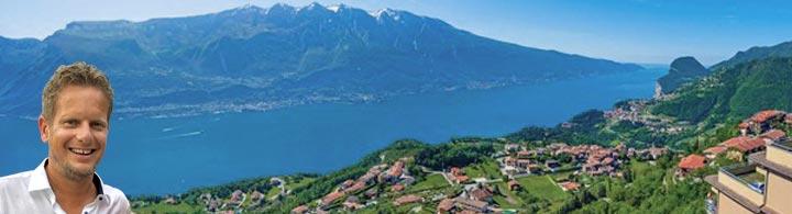 Mike's Tipp: </br>Gardasee – wunderschöner Blick auf den See