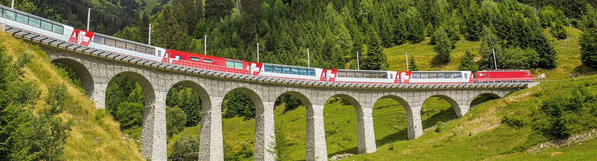 Glacier Express St. Moritz – Brig