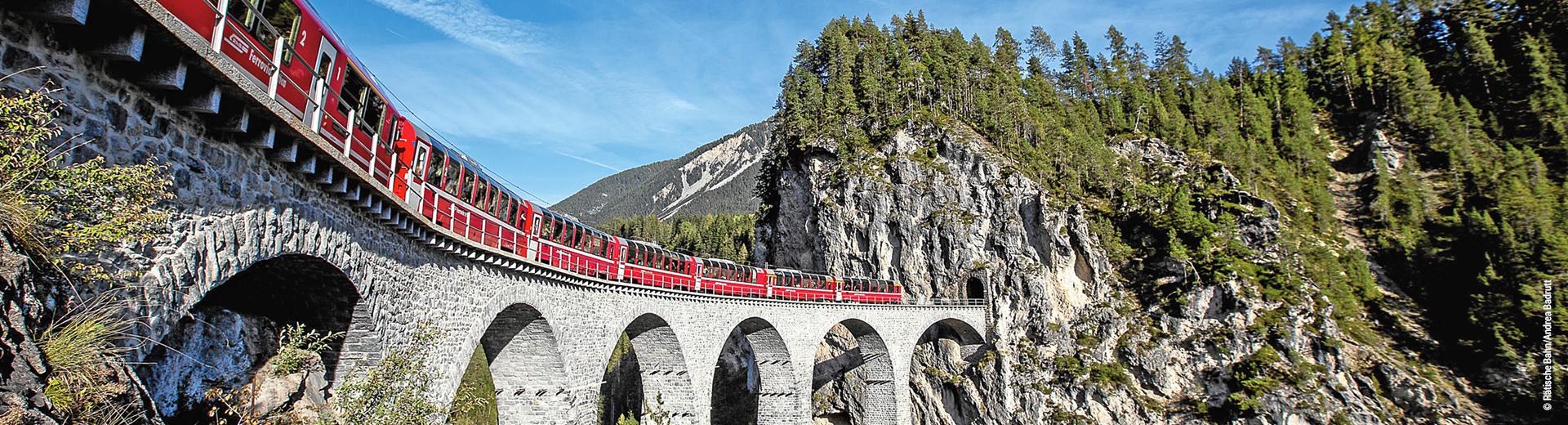 Bernina Express St. Moritz – Tirano – Lugano