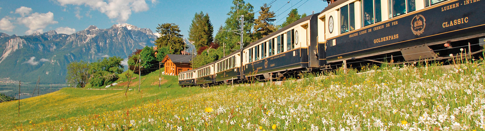 Goldenpass Line Montreux - Lucerne
