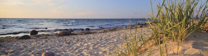 Nordsee Inseln und Orte auf dem Festland