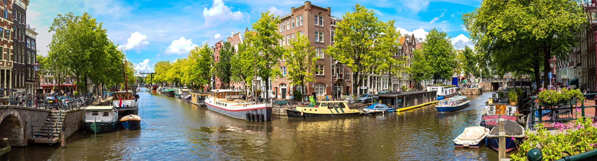 Voyage en groupe Amsterdam - offre économique train