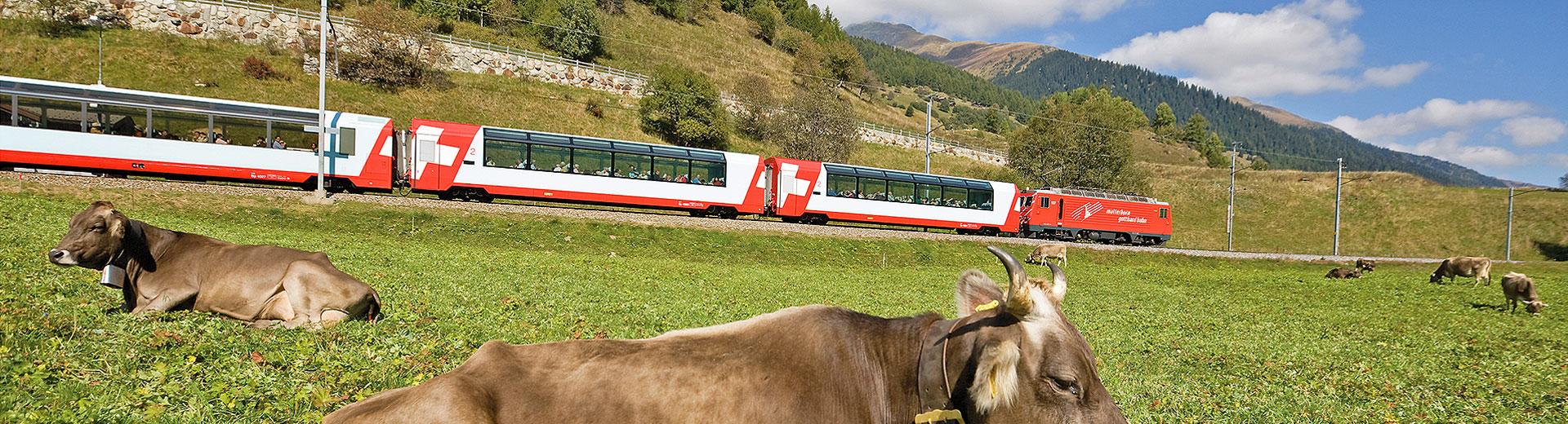 Glacier Express - Für Kunden mit Wohnsitz ausserhalb der Schweiz