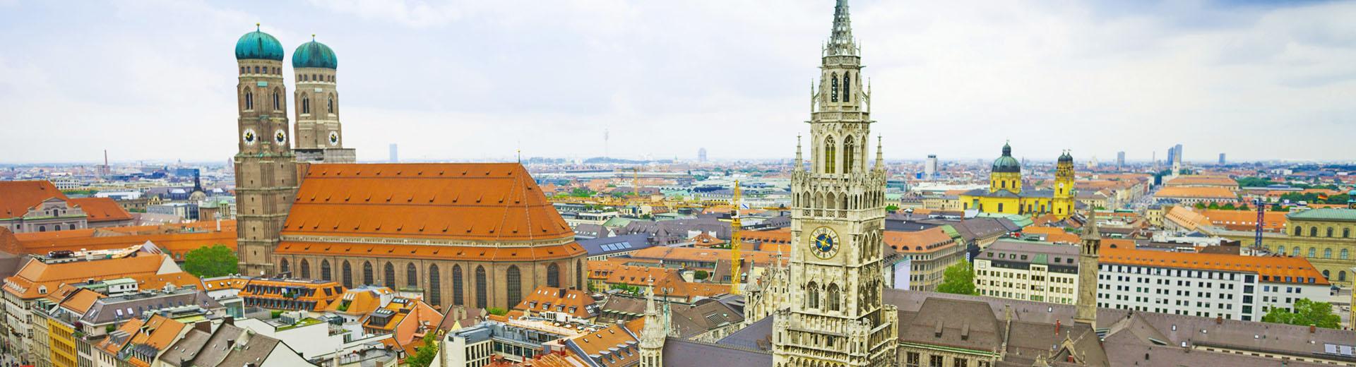 Voyage en groupe Munich - offre classique train
