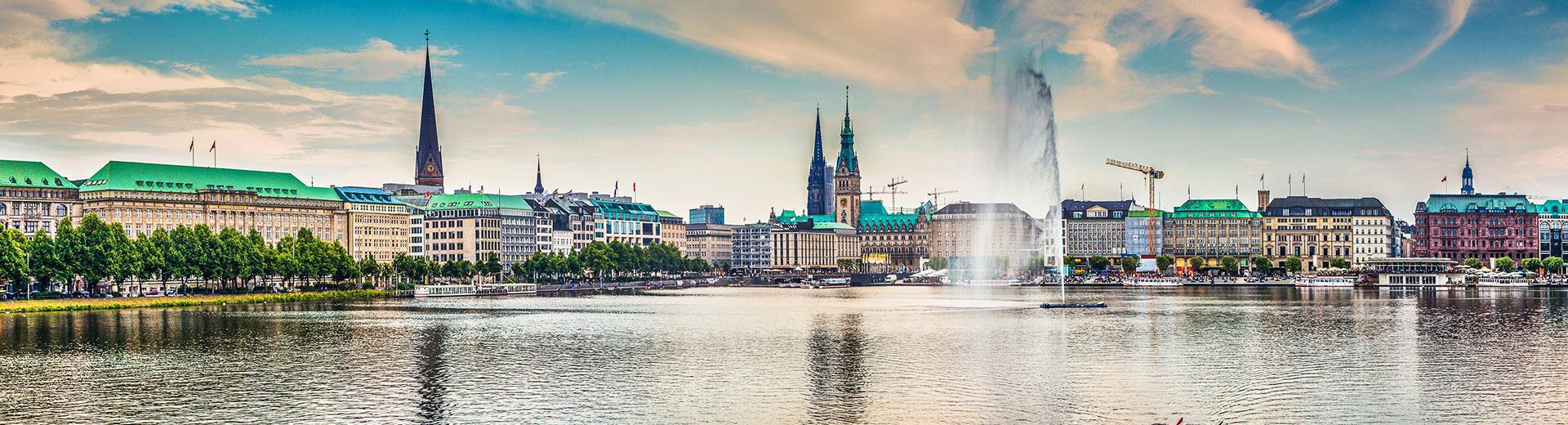 Voyages en groupe Hambourg - offre économique train