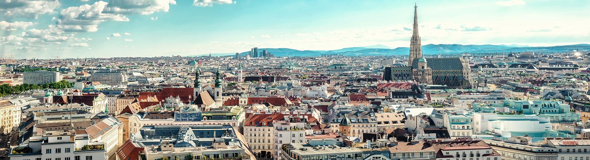 Voyage en groupe Vienne - offre économique avion