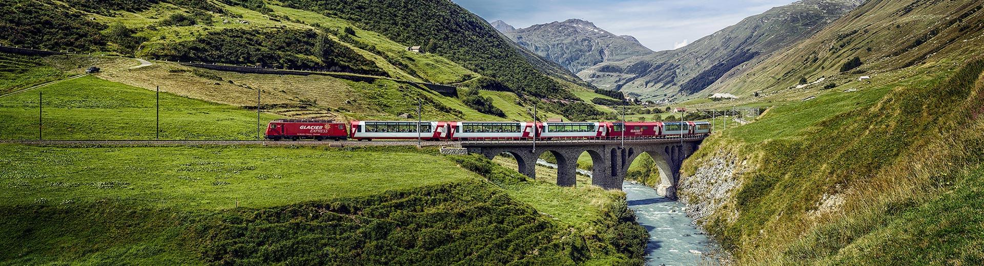 Gruppenreise Glacier Express