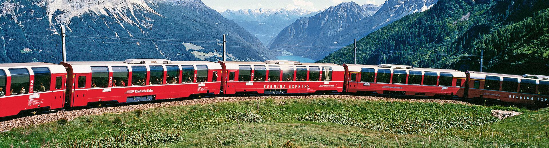 Bernina Express – 1re classe offerte au prix de la 2e classe