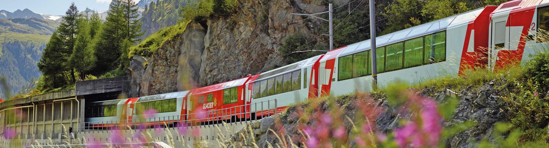 Voyages en groupe Glacier Express - Package Select
