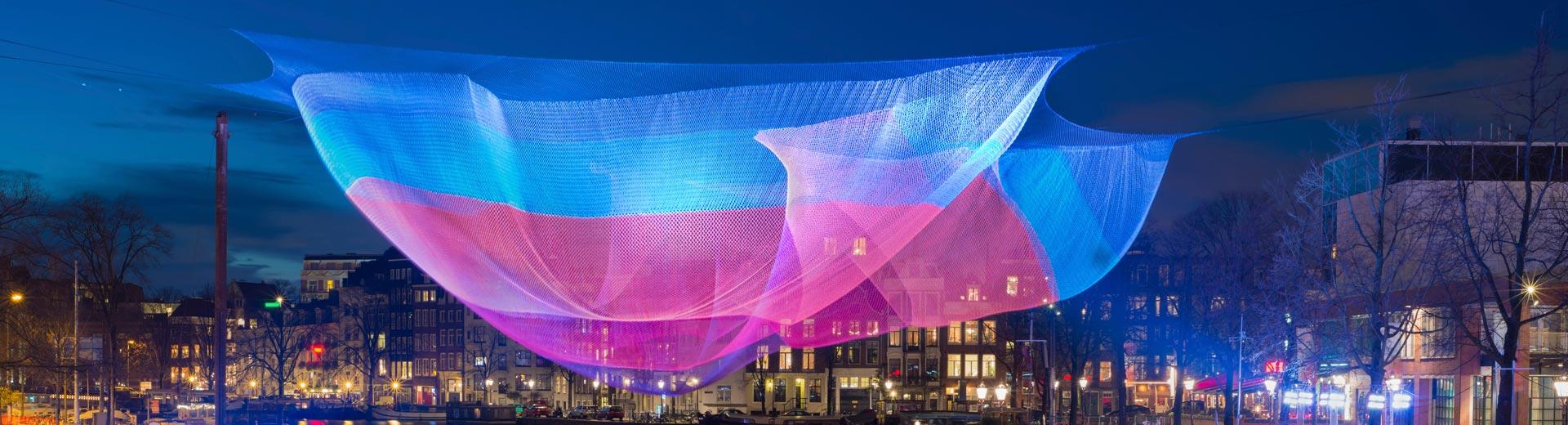 Lichtfestivals in Europas Städten