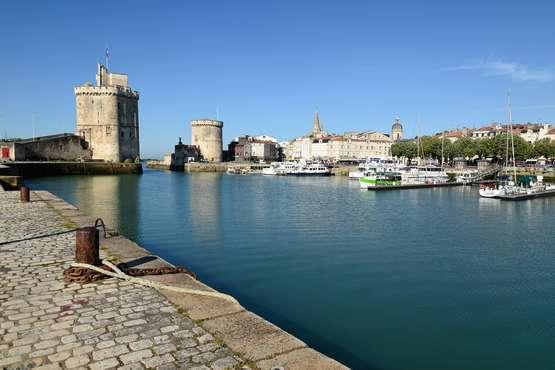 Atlantikküste  - La Rochelle © F. Giraudon – La Rochelle Tourisme
