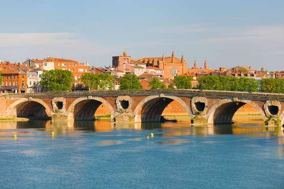 Midi-Pyrenäen - Toulouse, Pont Neuf