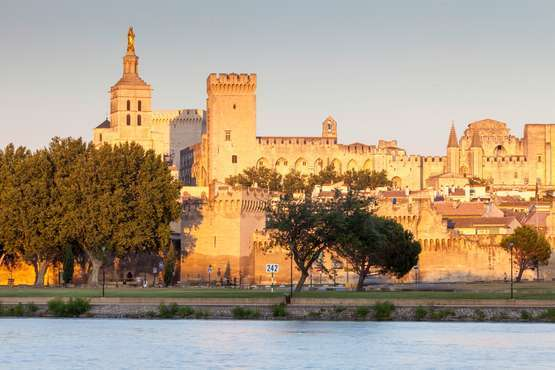 Avignon  - Der Papstpalast