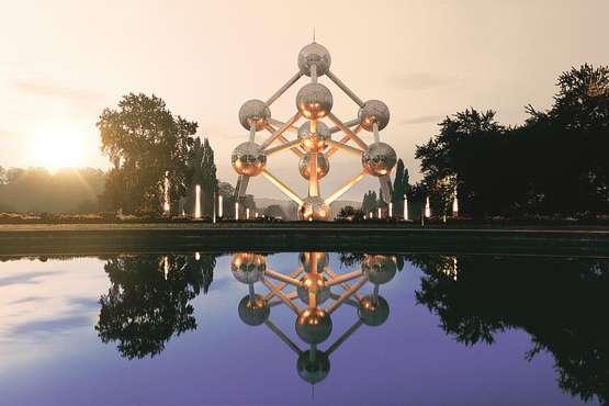 Belgien  - Atomium