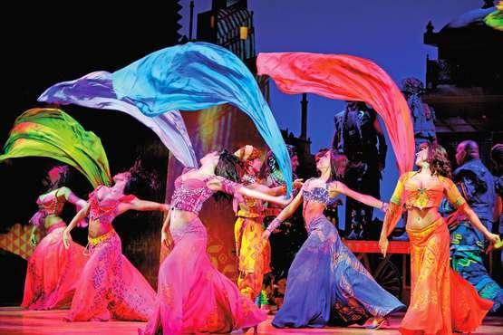 Comédie musicale - Aladdin