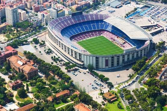 Soccer in Barcelona