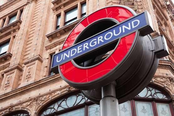 Underground transfer Heathrow/London City