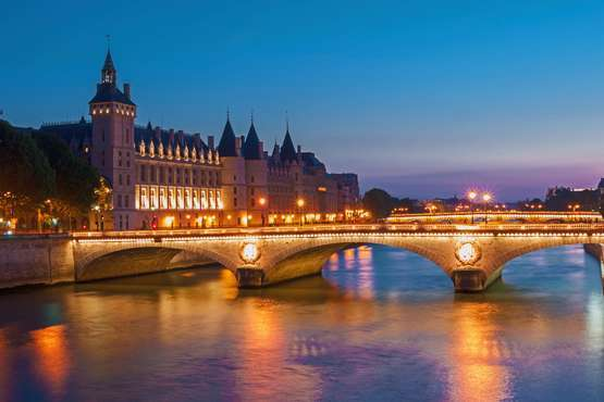Boat trip on river Seine – Paris