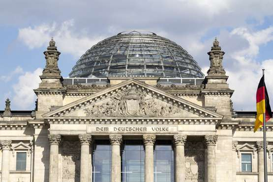 Reichstag dome - without waiting time