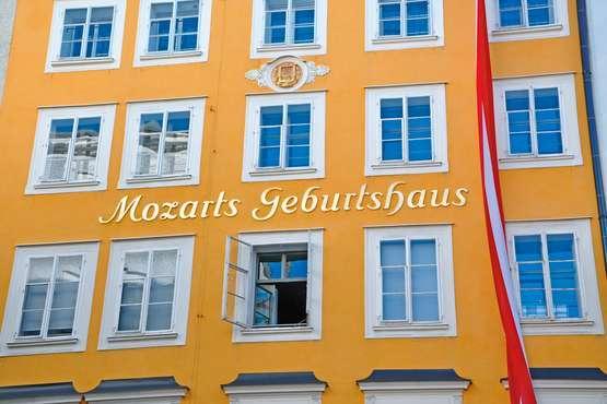 La ville de Mozart