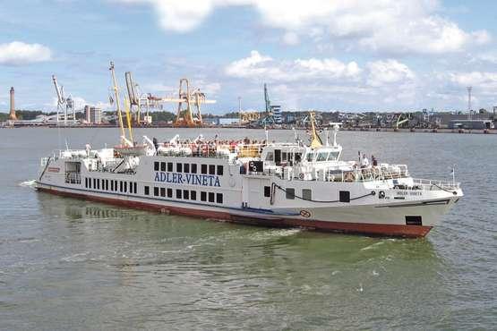 Hafenrundfahrt nach Swinemünde