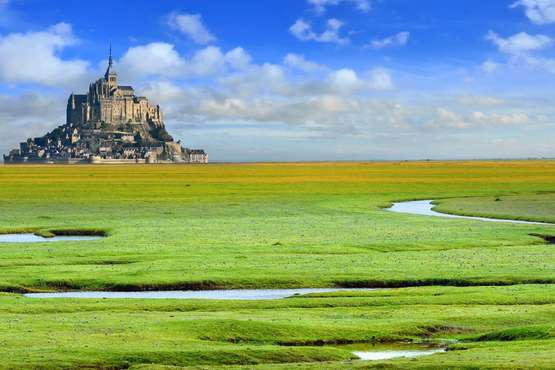 Bretagne - Normandie  - Mont-Saint-Michel © Tilio & Paolo - Fotolia.com