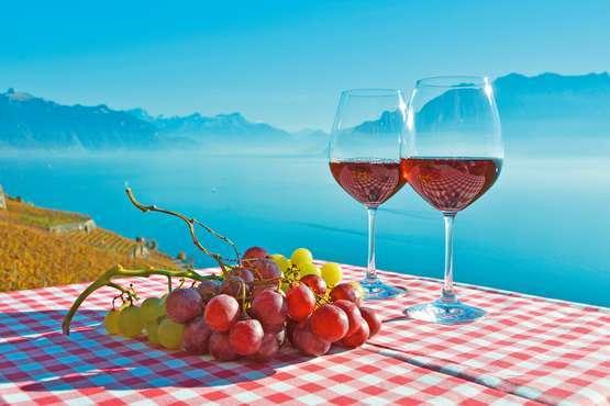 A table chez l'habitant à Montreux