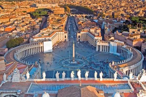 Audienz beim Papst im Vatikan