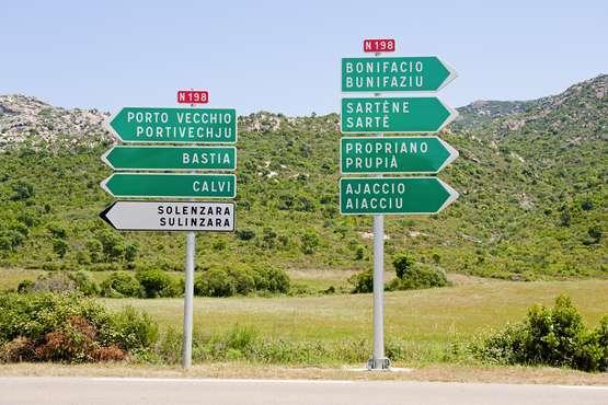 Transfert de l'aéroport d'Ajaccio aux hôtels et résidences ou v.v.