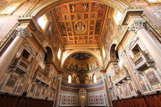 Basilicas and catacombs