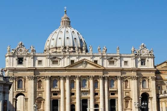 Vatikan Stadt morgens