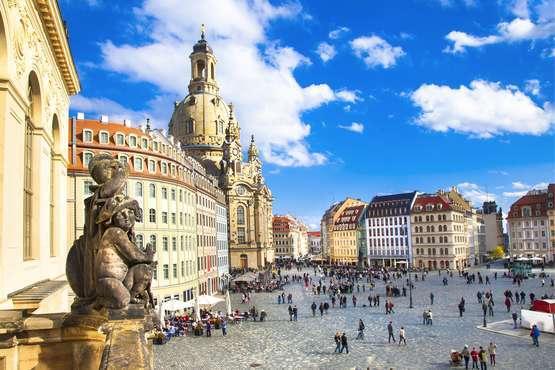 City Tour & visite Frauenkirche sans attente