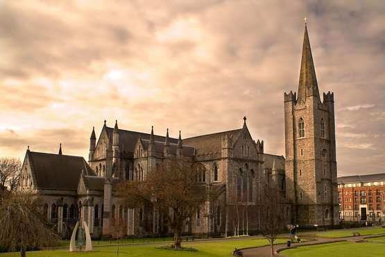 Dublin  - Saint Patrick's Cathedral
