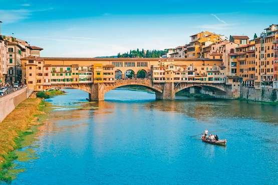 Boat trip in Florence