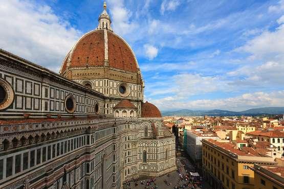 Dom von Florenz und Terrassen