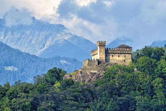 UNESCO – Weltkulturerbe drei Burgen von Bellinzona