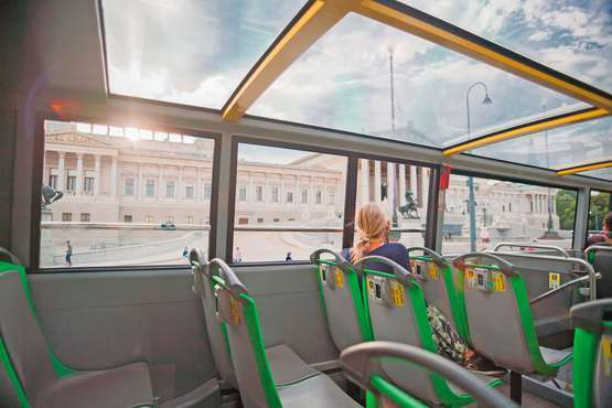 Hop-on hop-off city tour – Vienna