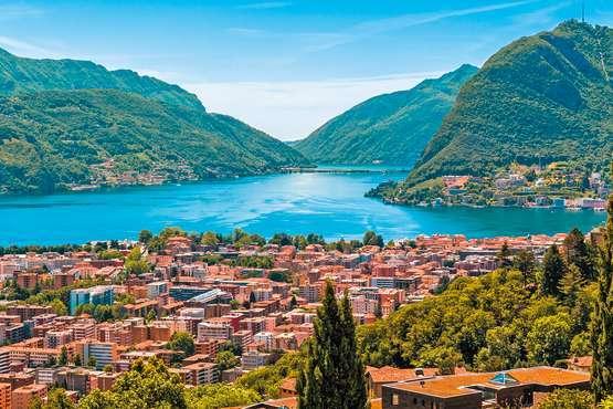 A table chez l'habitant à Lugano