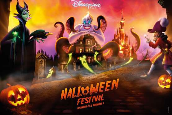 Disneyland® Paris  - Halloween © Disney