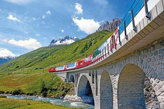 Glacier Express © swiss-image.ch/Christof Sonderegger