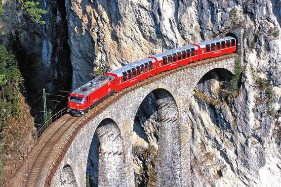 Bernina Express © Rhätische Bahn/Peter Donatsch