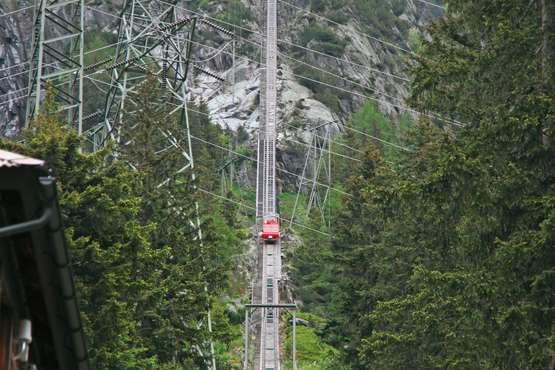 Gelmer Funicular – Interlaken