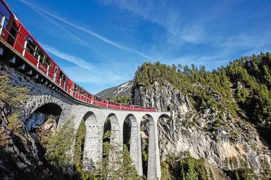 Bernina Express St. Moritz – Lugano