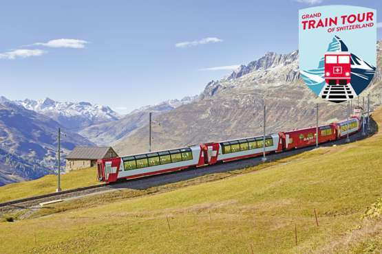 Grand Train Tour of Switzerland Classic including Jungfraujoch